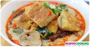 ต้มยำไข่เจียว อาหารไทย เมนูแกง เมนูไข่