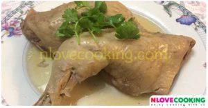 นึ่งไก่ ไก่นึ่ง อาหารไทย เมนูไก่