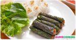 อาหารเวียดนาม หมูย่างใบชะพลู เมนูหมู เมนูปิ้งย่าง