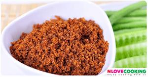 น้ำพริกกุ้งป่น น้ำพริกสวรรค์ อาหารไทย เมนูน้ำพริก