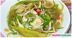 แกงเห็ดฟางใส่ผักหวาน อาหารไทย อาหารอีสาน เมนูแกง