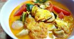 ต้มยำไข่เจียว อาหารไทย เมนูต้มยำ เมนูไข่