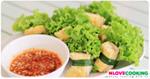 พันหอม อาหารเวียดนาม เมนูสลัดผัก อาหารคลีน
