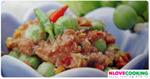 น้ำพริกมะเขือพวง อาหารไทย เมนูน้ำพริก อาหารพื้นบ้าน