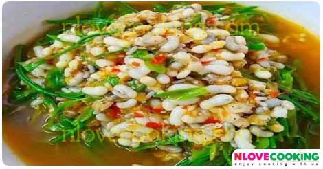 แกงผักหวาน อาหารไทย เมนูแกง เมนูผักหวาน