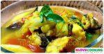 แกงปลาใส่ตูน แกงบอน อาหารไทย อาหารเหนือ