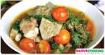 แกงขนุนซี่โครงหมู แกงบ่าหนุน อาหารเหนือ เมนูหมู