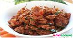 น้ำพริกหมูโคราช อาหารไทย น้ำพริก เมนูหมู