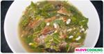 แกงผักหวานปลาย่าง อาหารเหนือ เมนูปลา อาหารไทย