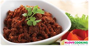 น้ำพริกตาแดง อาหารไทย เมนูน้ำพริก อาหารพื้นบ้าน