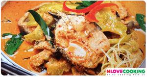 แกงคั่วมะระปลาดุก อาหารไทย เมนูแกง เมนูปลา