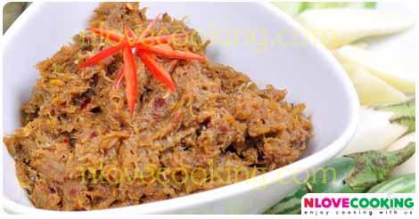 น้ำพริกปลาสลิด อาหารไทย เมนูอาหาร น้ำพริก