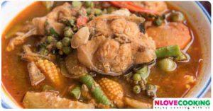 แกงป่าปลาช่อน อาหารไทย เมนูปลา เมนูแกง
