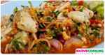 ยำหอยนางรม อาหารไทย เมนูยำ เมนูหอยนางรม