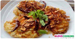 ไข่ทอดสามรส อาหารไทย เมนูไข่ เมนูทอด