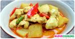 แกงคั่วฟักไก่ อาหารไทย อาหารเหนือ เมนูแกง
