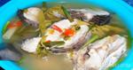 ต้มยำปลาช่อนใบมะขามอ่อน อาหารไทย เมนูปลา เมนูต้มยำ
