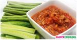 น้ำพริกอ่องทูน่า อาหารไทย เมนูน้ำพริก น้ำพริกอ่อง