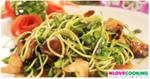 ผัดต้นอ่อนทานตะวัน อาหารจีน เมนูผัด เมนูต้นอ่อนทานตะวัน