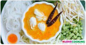 น้ำยาปู อาหารไทย เมนูน้ำยาขนมจีน อาหารจานเดียว