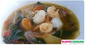 ต้มโคล้งทะเล อาหารไทย เมนูแกง อาหารทะเล