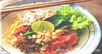 มาม่าต้มยำแห้งหมูสับ อาหารไทย เมนูต้มยำ เมนูหมู
