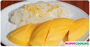 ข้าวเหนียวมะม่วง ขนมไทย เมนูข้าวเหนียวมูน วิธีทำข้าวเหนียวมะม่วง