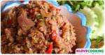 น้ำพริกตะไคร้ อาหารไทย เมนูน้ำพริก อาหารพื้นบ้าน
