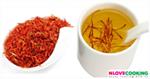 ชาดอกคำฝอย อาหารสุขภาพ น้ำสมุนไพร สูตรเครื่องดื่ม
