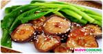 คะน้ากรอบเจ อาหารเจ เมนูผักคะน้า อาหารจีน