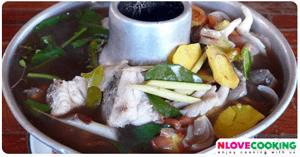 แกงส้มปลาโจก อาหารอีสาน อาหารไทย เมนูปลา