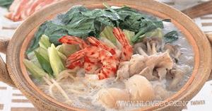 อังโกะนาเบะ ปลาหม้อไฟ อาหารญี่ปุ่น เมนูปลา