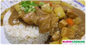 แกงกะหรี่ไก่ อาหารญี่ปุ่น เมนูไก่ อาหารจานเดียว