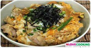 โอยาโกะดัง อาหารญี่ปุ่น เมนูไก่ เมนูไข่