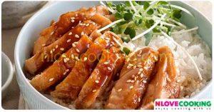 ไก่ทาริยากิ อาหารญี่ปุ่น เมนูไก่ ข้าวไก่ทาริยากิ