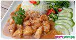 ข้าวหน้าไก่ อาหารไทย เมนูไก่