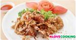 ปูทอดกระเทียมพริกไทย อาหารไทย เมนูปู เมนูทอด