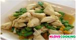 ปูผัดพริกสด อาหารไทย เมนูปู อาหารทะเล