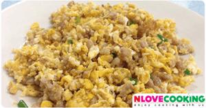หมูผัดไข่ อาหารไทย เมนูผัด เมนูไข่