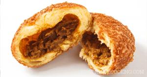 ขนมปังแกงกะหรี่ สูตรอาหาร เมนูขนมปัง แกงกะหรี่