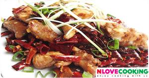 ผัดไก่เสฉวน อาหารจีน เมนูผัด เมนูไก่