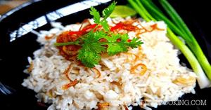 ข้าวผัดลิ้นจี่ อาหารไทย เมนูผัด เมนูหมู
