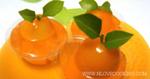 วุ้นส้ม ขนมหวาน เมนูคลายร้อน