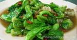 ผัดแขนงหมูสับ เมนูผัด อาหารไทย