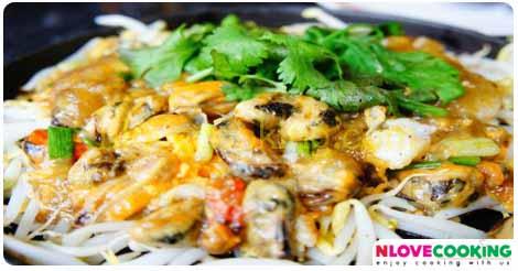 หอยทอด เมนูหอย เมนูทอด อาหารไทย