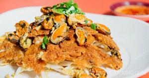หอยทอด อาหารจานเดียว เมนูทอด