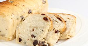 ขนมปังลูกเกตุ ขนมปัง เมนูลูกเกตุ