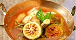 แกงชักส้มดอกมะขามอ่อน แกงชักส้ม อาหารไทย