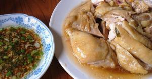 ไก่นึ่งซีอิ้ว อาหารไทย เมนูไก่