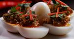 แกงไข่ไล่ทุ่ง อาหารไทย เมนูไข่